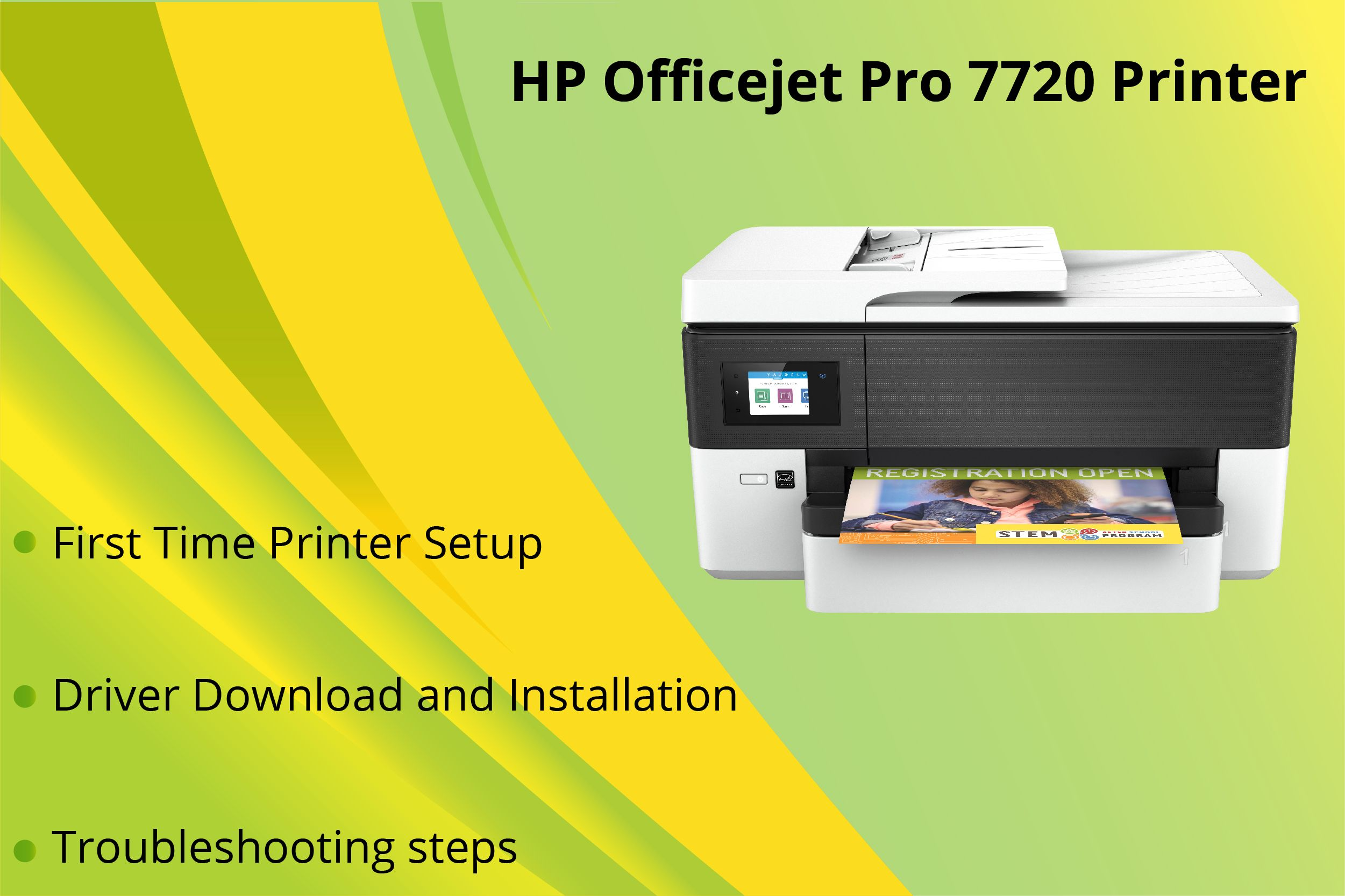 Here we are! Providing guidelines for Printer setup