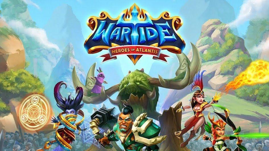 Wartide v1.10.01 Mod APK Hero, Atlantis, App hack