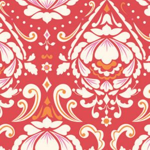 Dena Fishbein - Taza - Medallion in Red...One of the fabrics for Madison's owl quilt