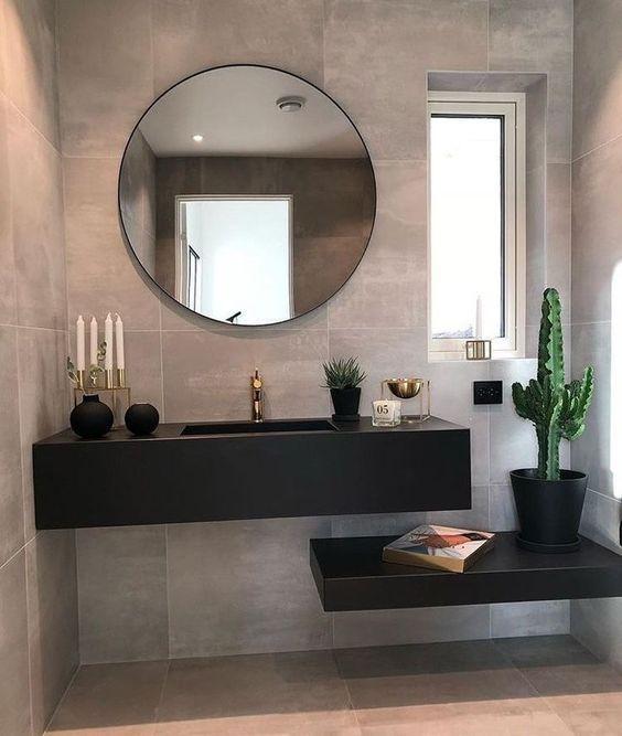 24 Amazing Bathroom Mirror Designs Badkamer Badkamerideeen En