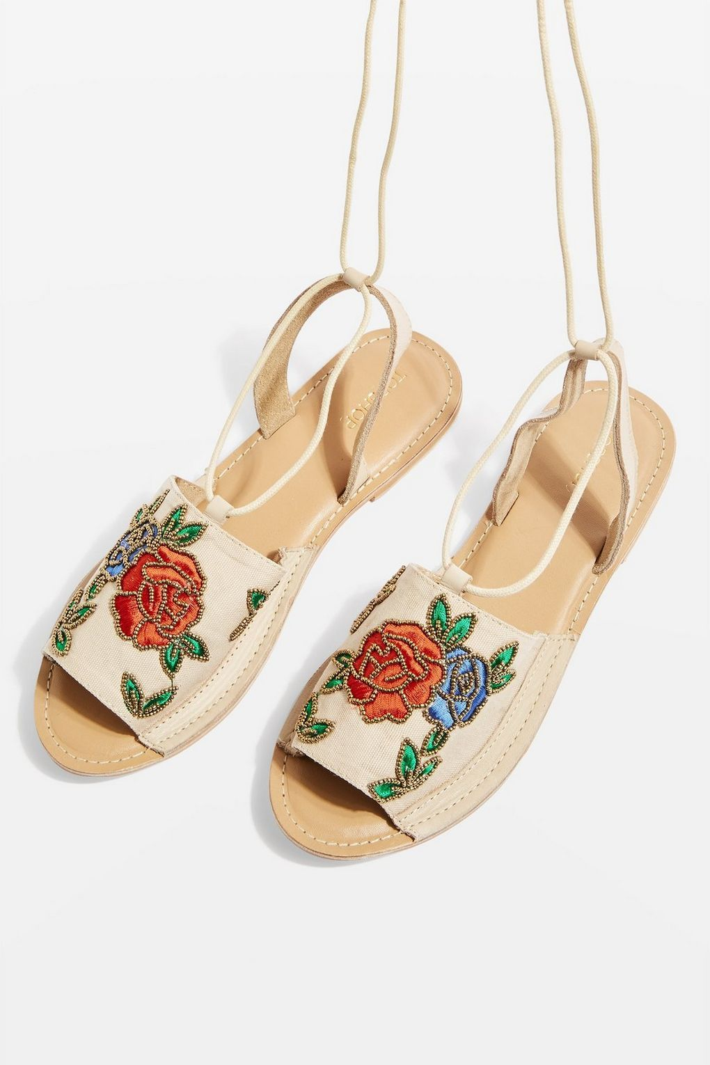 286566060339 Halle Embroidered Sandals - Shop All