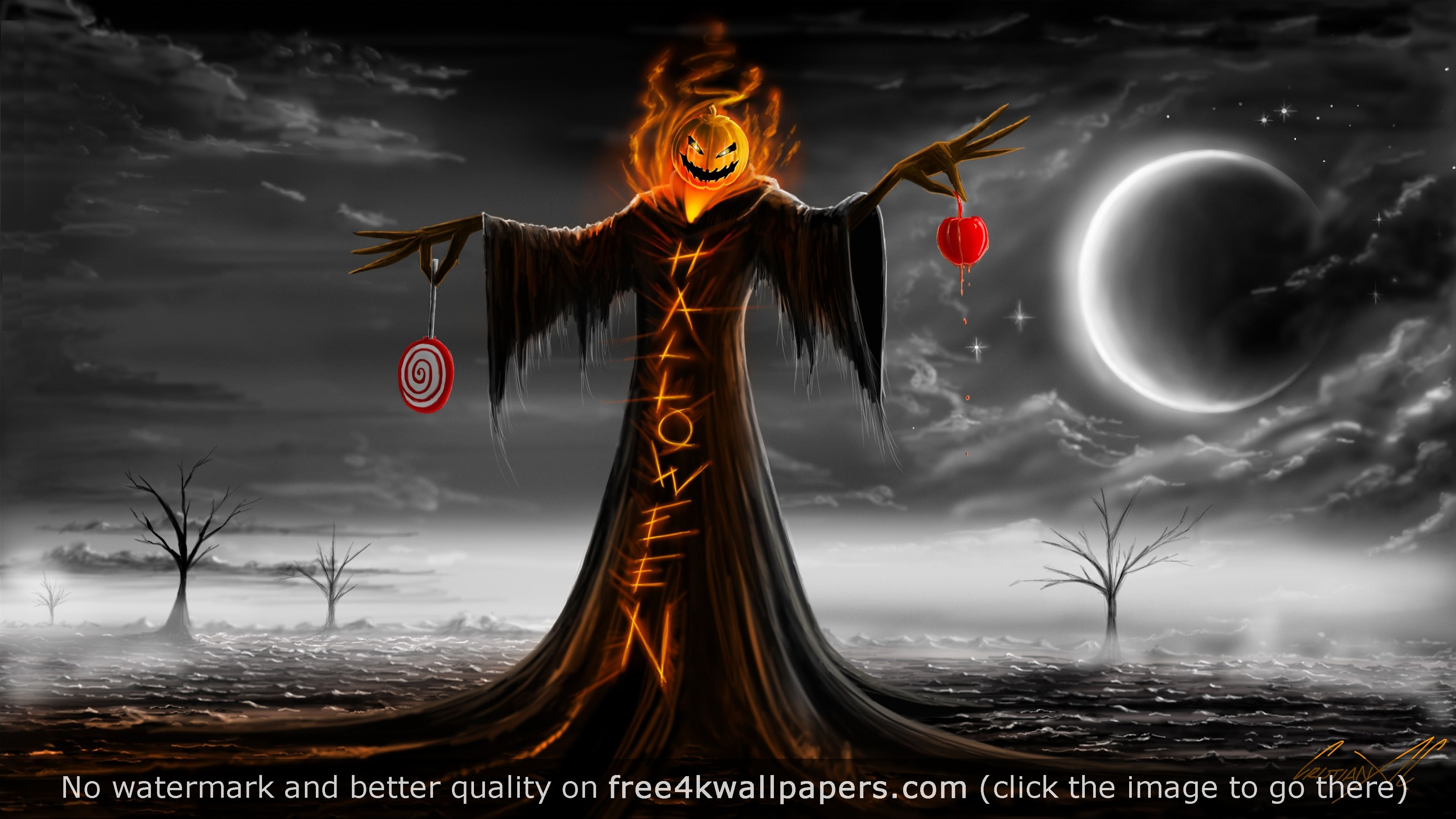 Halloween Pumpkin Hhost 4k Wallpaper Free Halloween Wallpaper Halloween Wallpaper Backgrounds Halloween Pictures