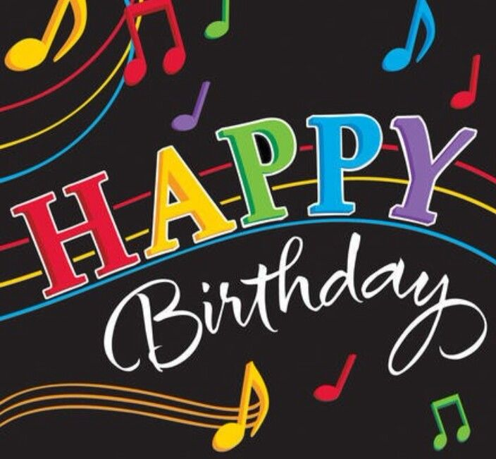 Happy Birthday Music Notes Funny Song Pictures