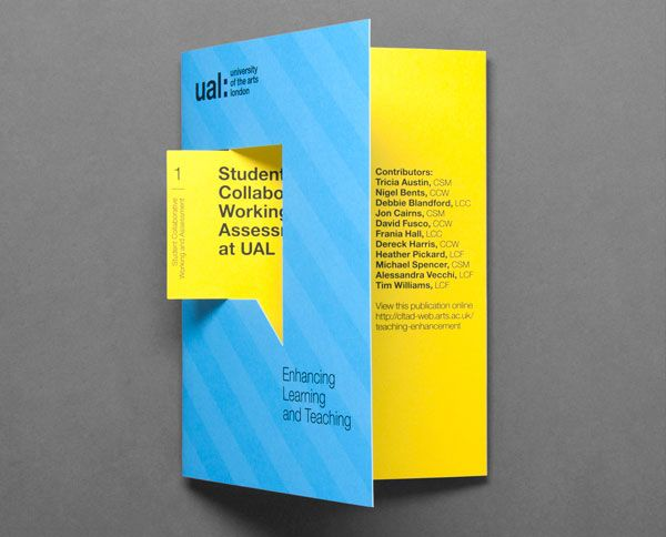 learning teaching brochure design ideas 2 20 best examples of brochure design projects for inspiration - Brochure Design Ideas
