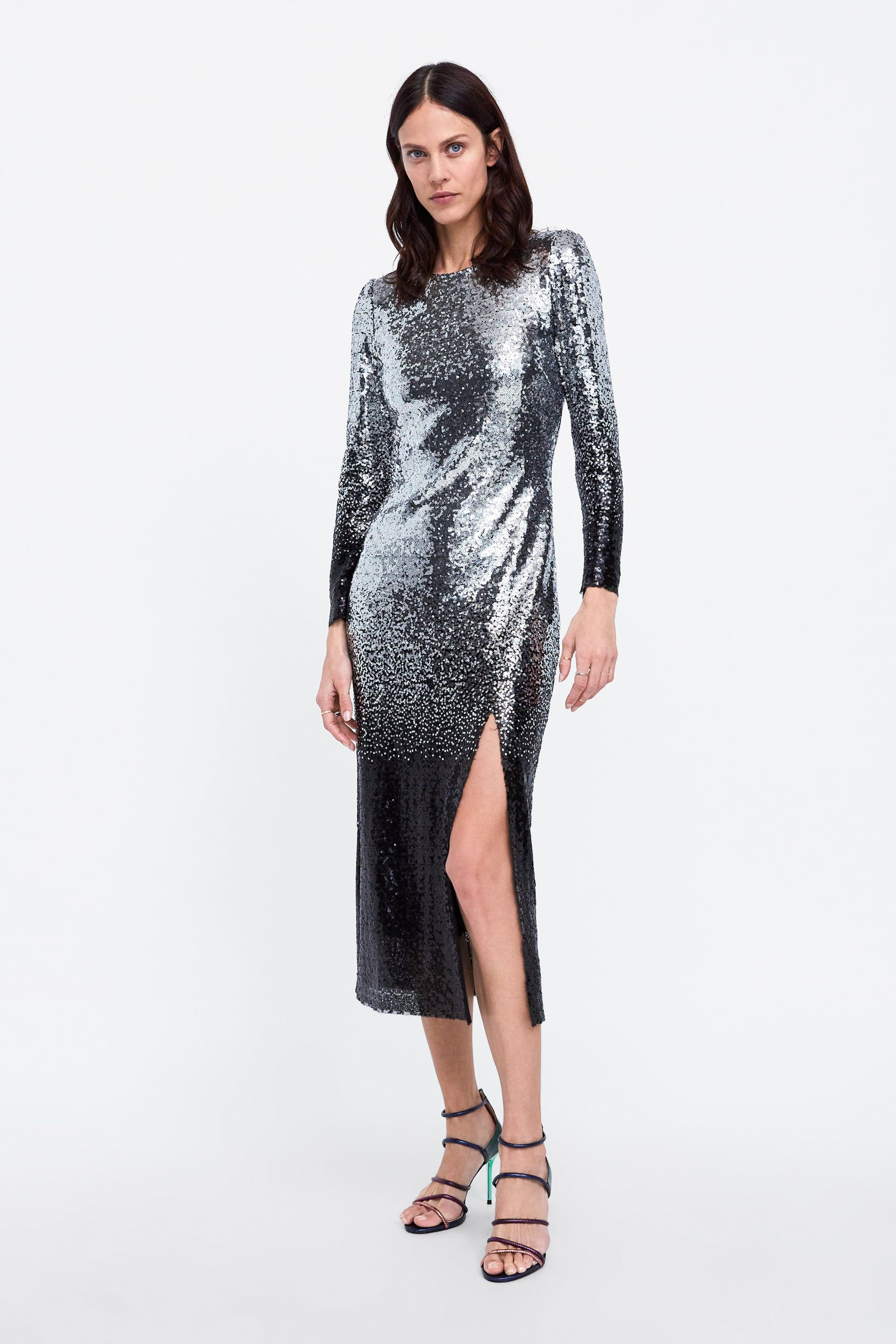 a37cace7 Image 1 of OMBRÉ SEQUIN DRESS from Zara | F A N C Y | Dresses ...
