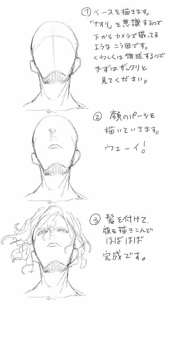 Pin von sakura1411 auf Manga drawing | Pinterest | Gesicht ...