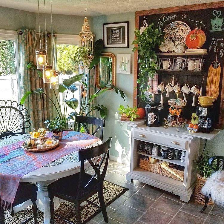 bohemian decor on instagram kitchen perfection photo via preppybohemianathome on kitchen decor hippie id=21639