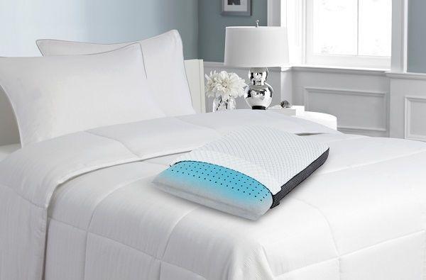 Lux Living Beautyrest Black Ice Memory Foam Pillow Memory Foam Pillow Foam Pillows Firm Mattress