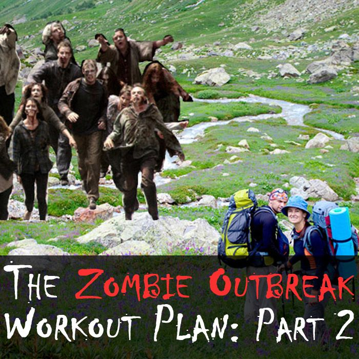The Zombie Outbreak Workout Plan: Part 2, from the Cody App blog. #fitness #motivation #codyapp