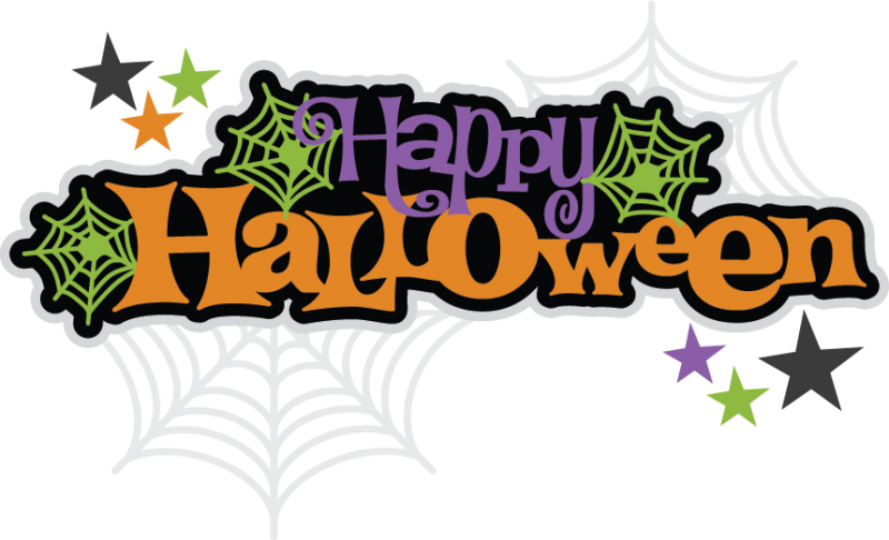Happy Halloween Letreros De Halloween Siluetas De Halloween Tarjetas De Halloween