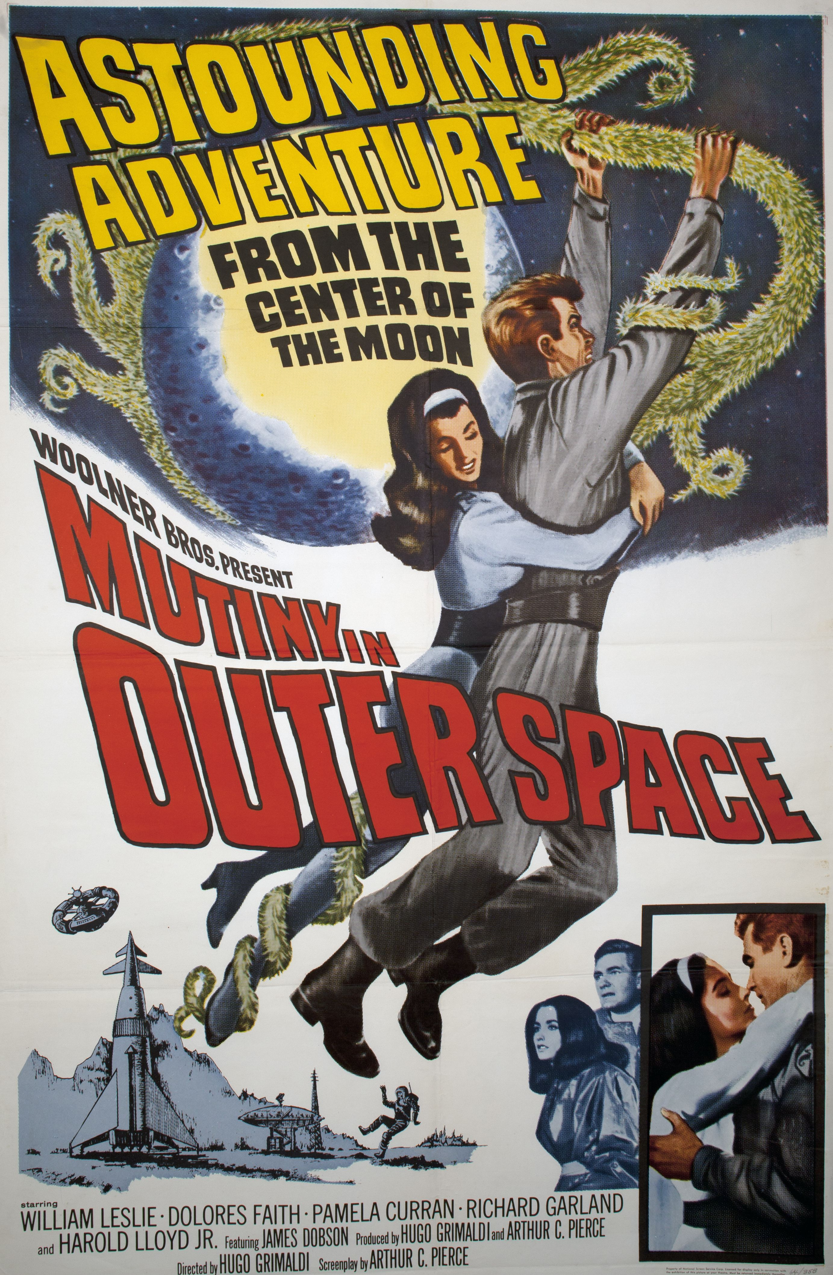 Mutiny in outer space 1965 http classic film posters for Outer space movies
