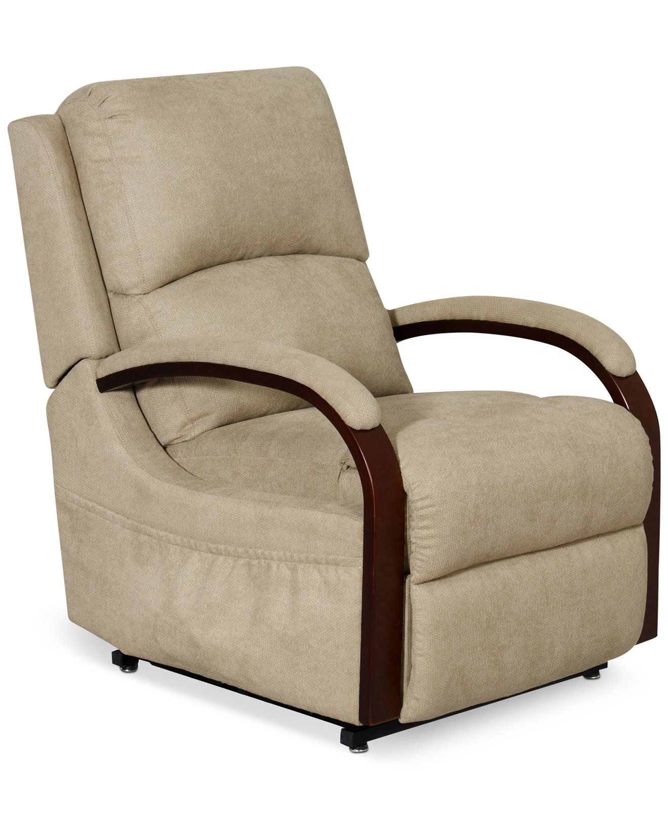 Percey Fabric Power Lift Recliner Chair Recliners Furniture