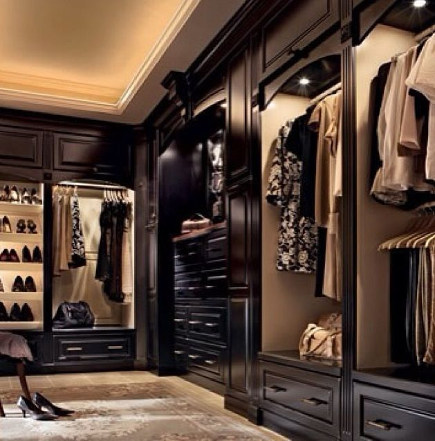 The Antiqued Mirror Boutique contemporary closet los