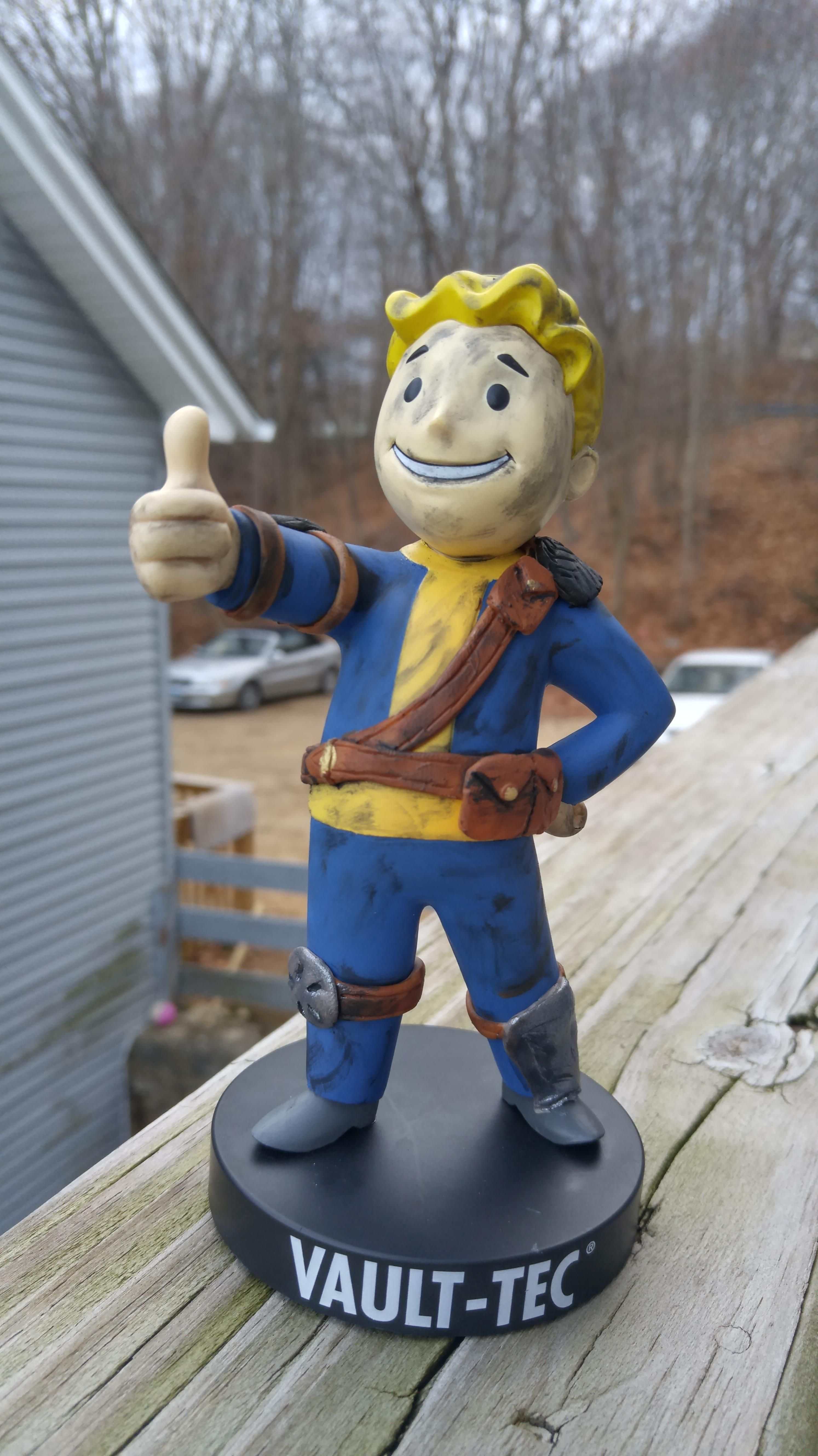 Modifying my vault boy  Step by step    Fallout   Fallout game