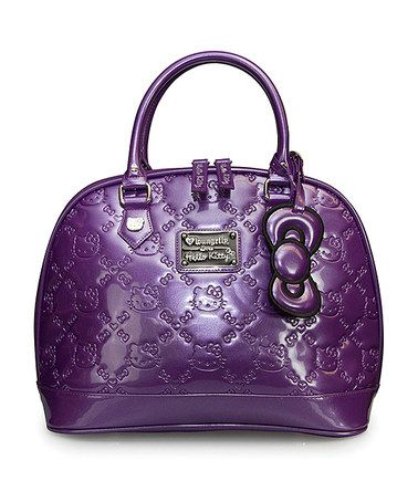 a0660627b Hello Kitty Hello Kitty Acai Patent Embossed Top Handle Bag Tote Handbag new