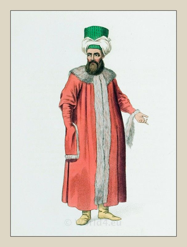 Popular Ottoman Cyprus Traditional Clothing Of From Right To Left A