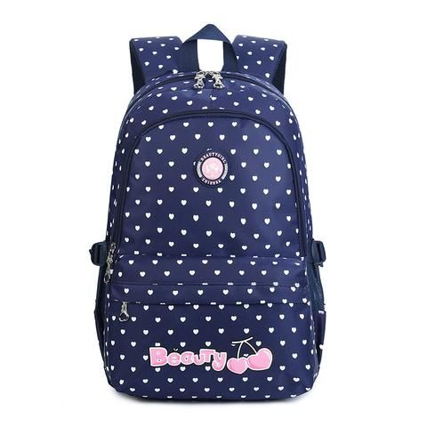 3649308251ea Zhierna 2018 new cute printing school bags for teenage girls four colors  casual school backpack large capacity kids backpacks