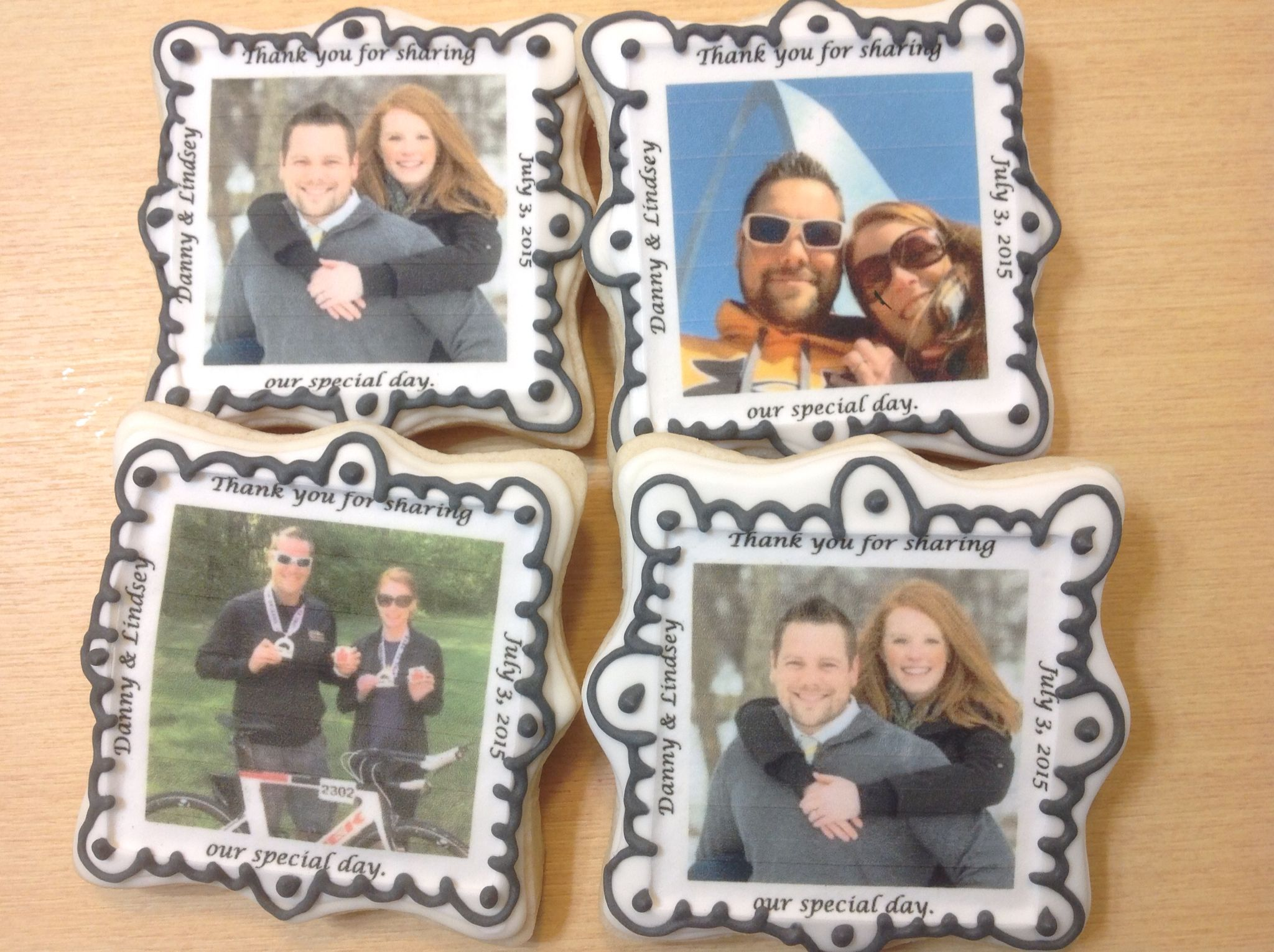 Edible Image Decorated Sugar Cookies by I Am the Cookie Lady