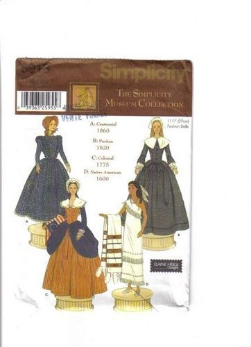Free Copy Of Pattern Simplicity 5913 Barbie Clothes