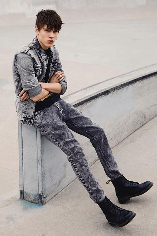 ca4029da23c5 Topman 2013 Spring Summer Denim Lookbook - It s not nineties without LOTS  of denim