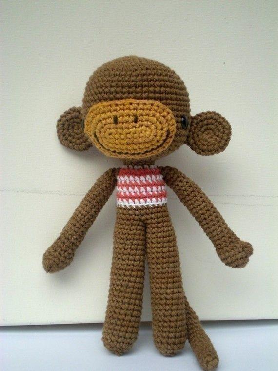 Amigurumi Monkey Pattern - JACQUES | Mono y Patrones