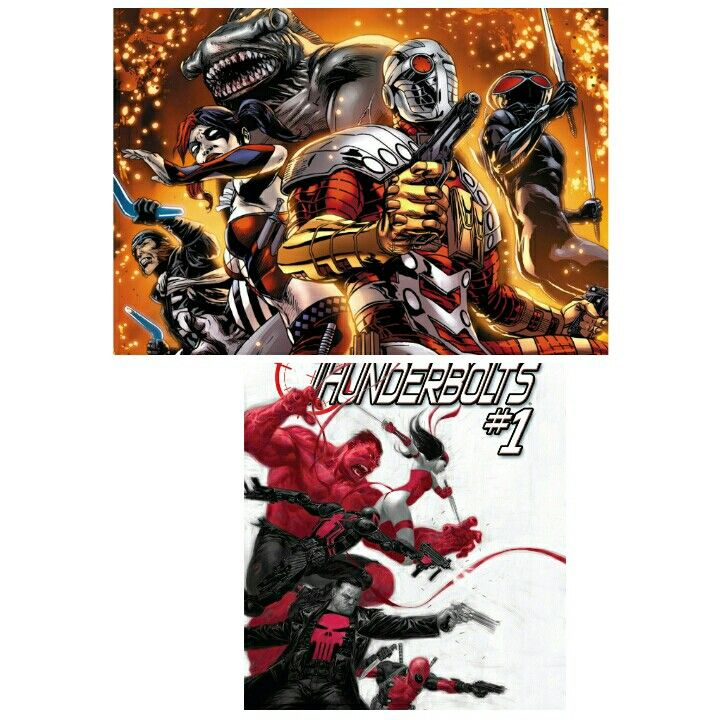 Suicide squad vs thunderbolts modern