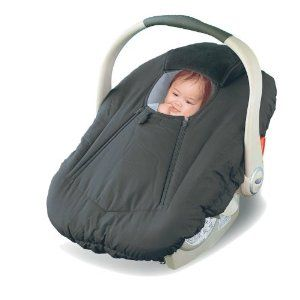 Car Seat Cover. The double zipper is sooo much more convenient than