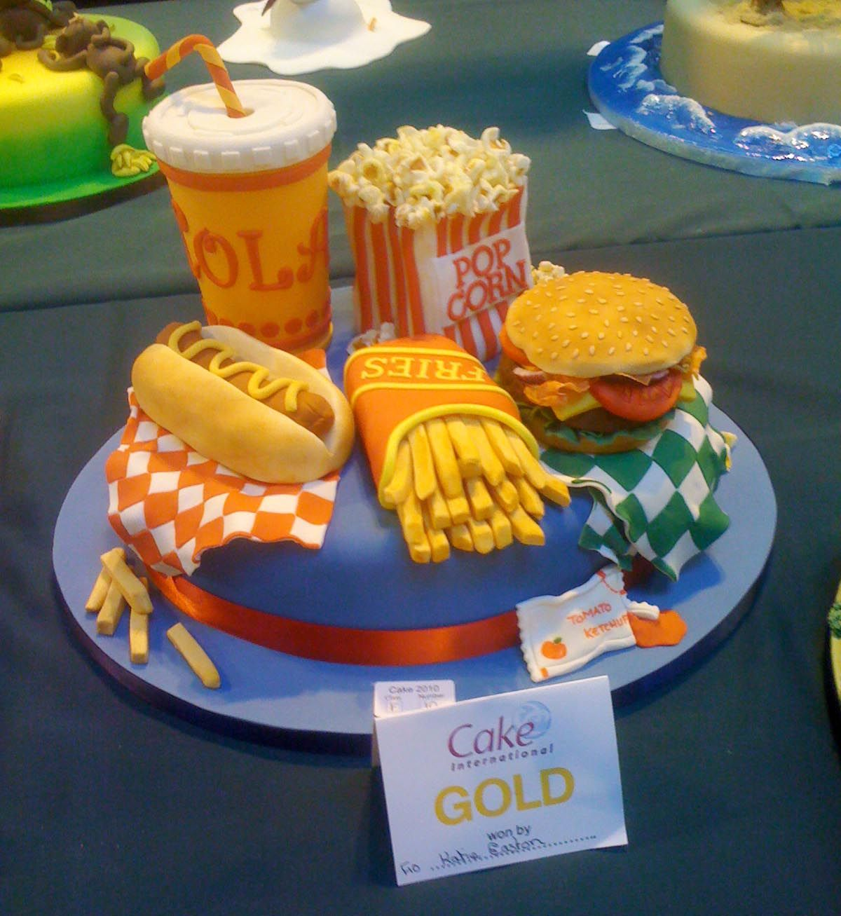 Cake Decorating Shows On Food Network : Cakes Food Junk Food Cake [ Junk Food Cake ] OMG ...