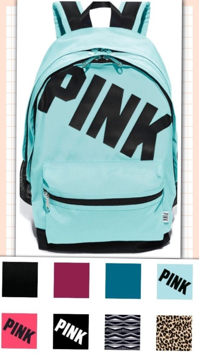 Details about Victoria's Secret PINK Campus Backpack Bookbag - NWT ...
