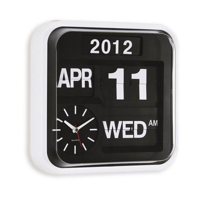 Flip Clock Design-Wanduhr | Living | Pinterest | Wanduhren ...