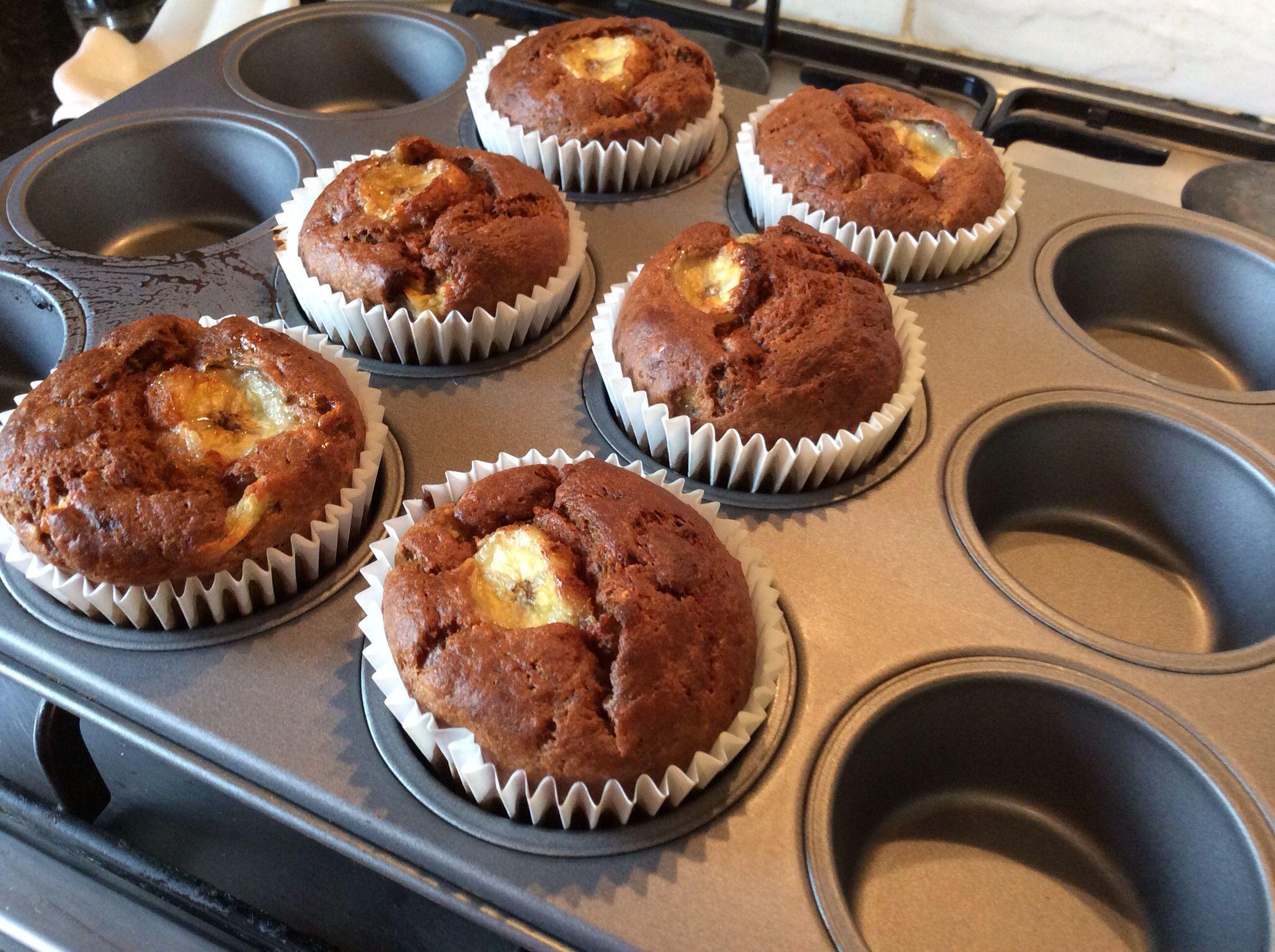 Chocolate Fudge Cake Recipe Jamie Oliver: Skinny Banana & Honey Muffins