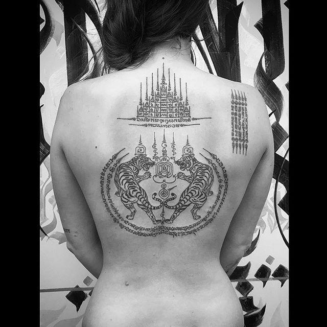 170c7c35e4458 Muay Thai Tattoo symbols and meanings | Tattoo | Thai tattoo ...