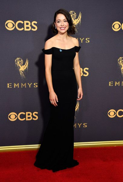 Tatiana Maslany Off The Shoulder Dress Dresses Strapless Dress