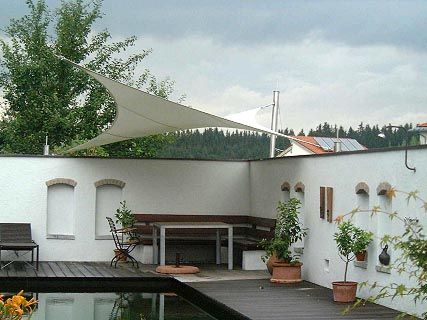 Fabric roofs