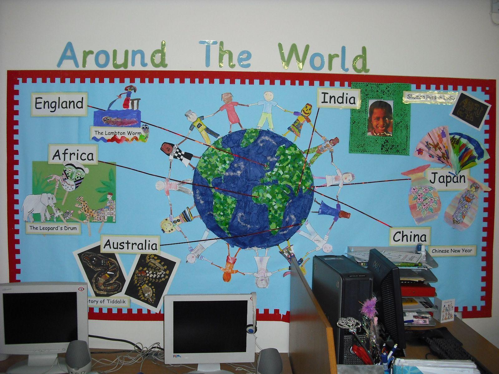 Round The World Topic