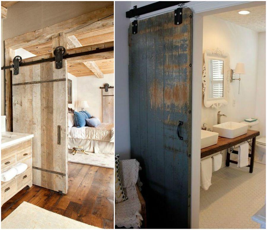 Risultati immagini per porte scorrevoli legno grezzo