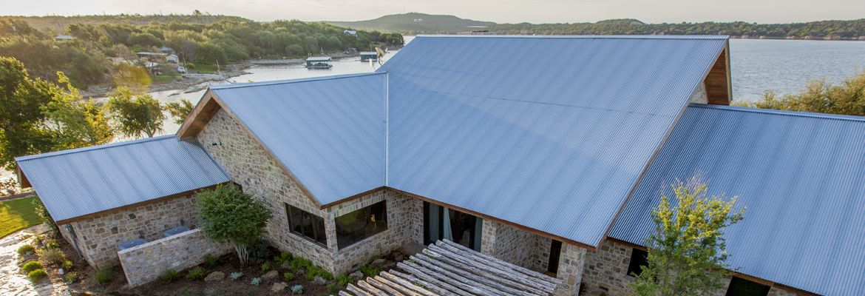 Corrugated Panel Mueller Inc Metal Roof Metal Roof Installation Roofing