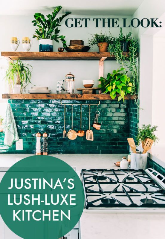 Get the Look ... Justina\'s Lush-Luxe Boho Kitchen | Pinterest | LUSH ...