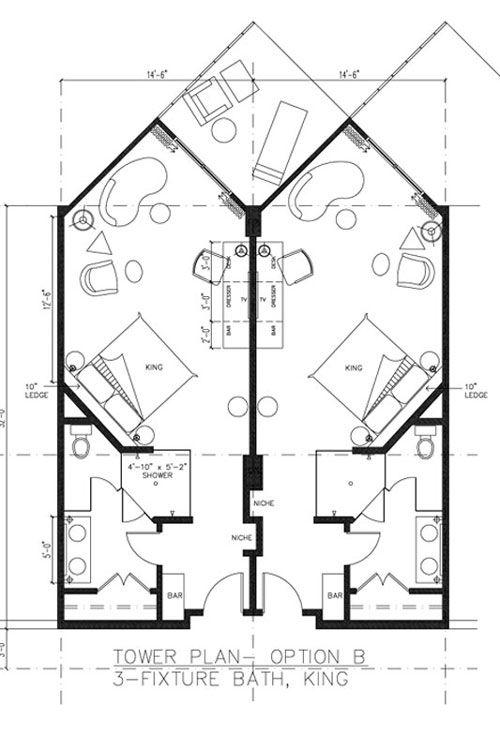 Http Www Lagomarpanama Com Tower Guestroom Plan King11 Jpg Kiến Truc Sư Mặt Bằng Nha Kiến Truc