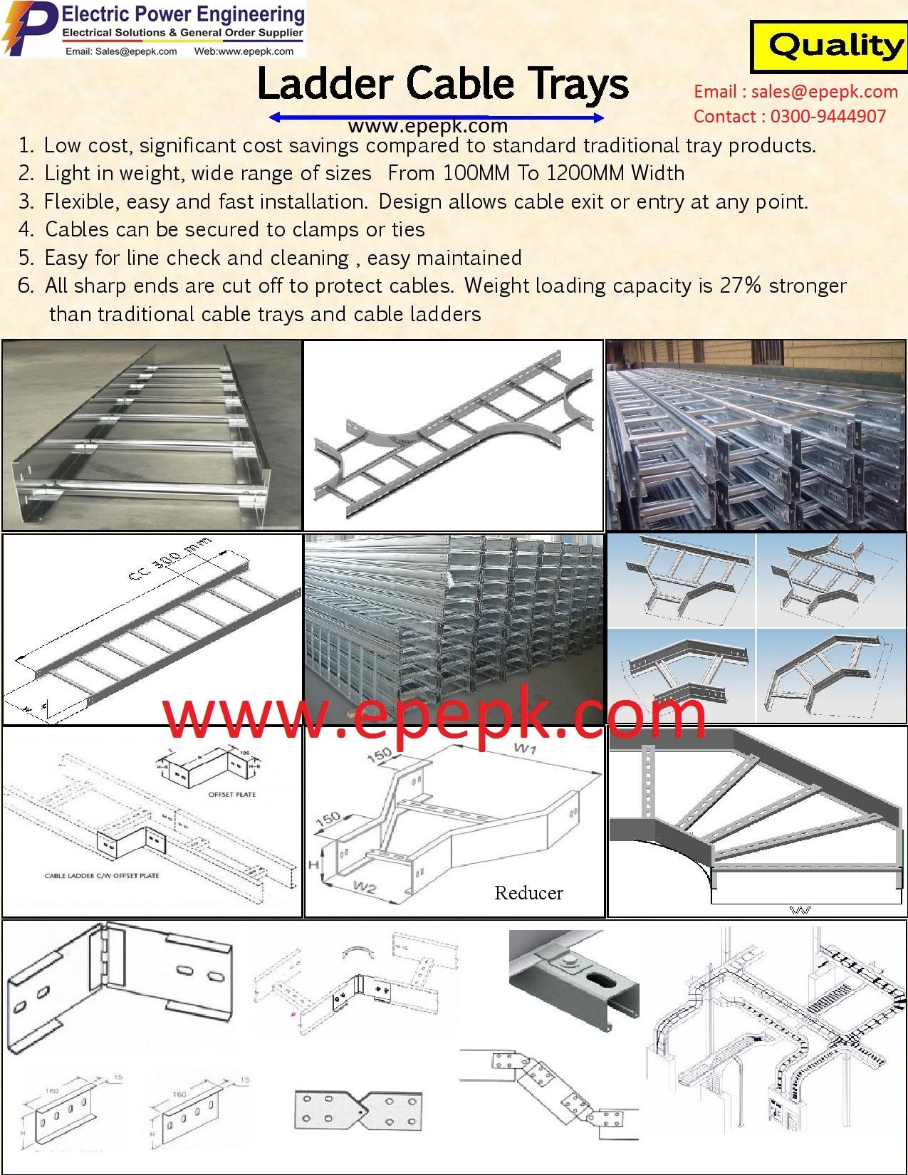 Ladder Gi Cable Tray Ladder Hot Dip Galvanized Cable Tray Ladder Powder Coated Cable Tray In 2020 Cable Tray Cable Trays Tray