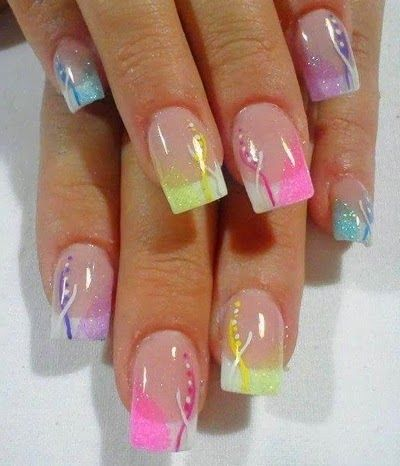 spring nail designs pictures | spring nail design ideas 2014 spring nail trends 2014 nail