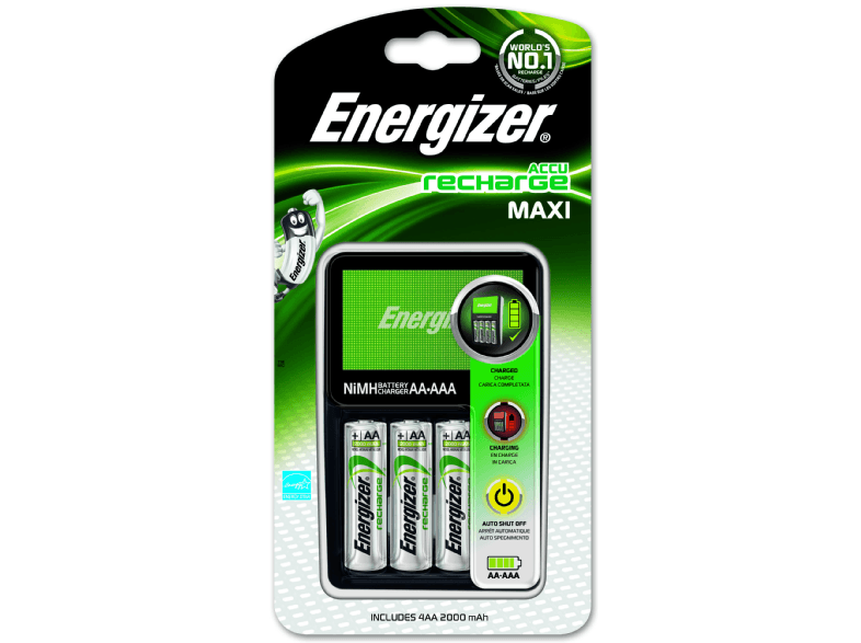 ENERGIZER E300321200 ENR Maxi Ladegerät | 07638900321401