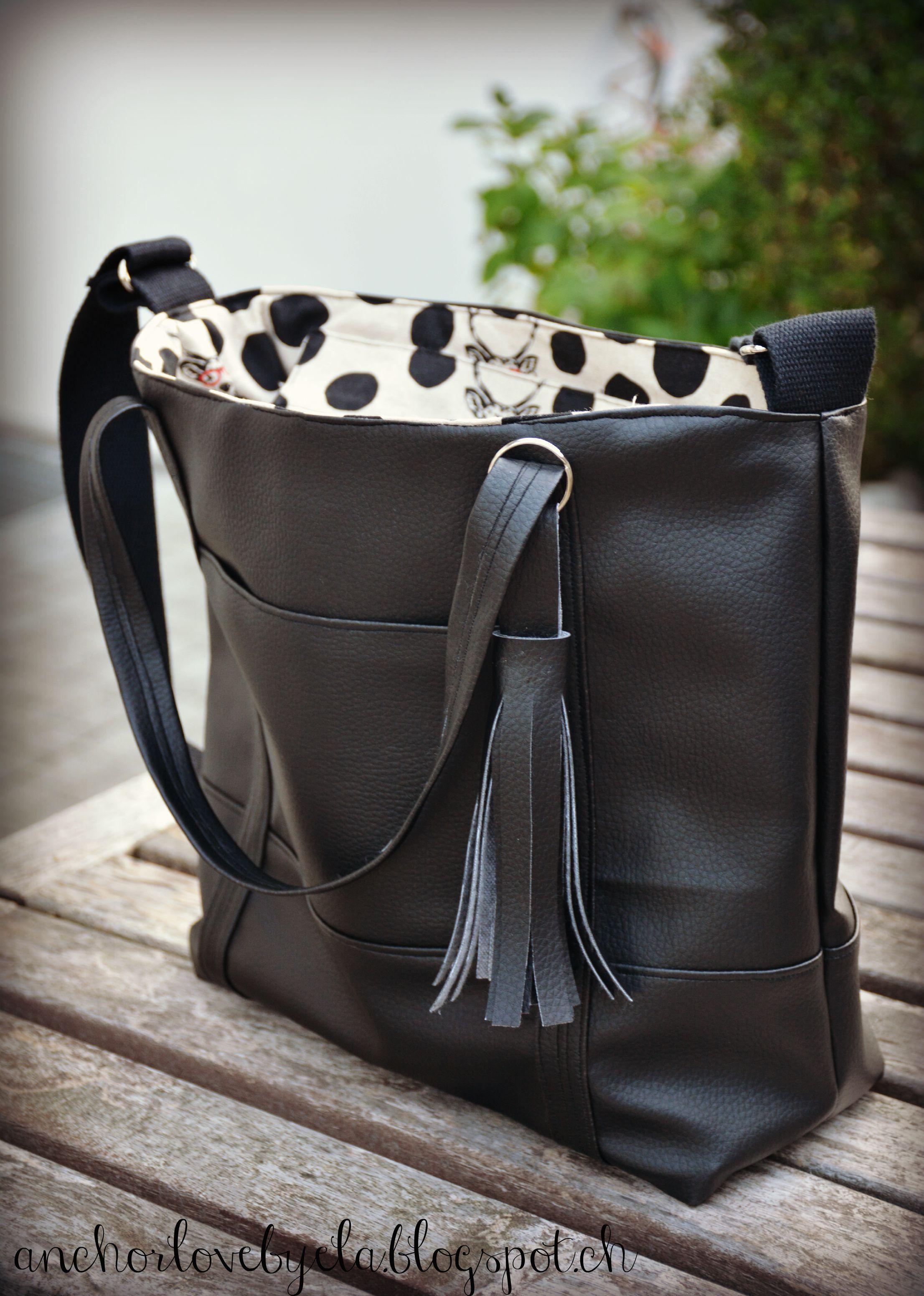tasche svea handtasche svea schnittmuster handtasche ledertasche n hen und handtasche. Black Bedroom Furniture Sets. Home Design Ideas
