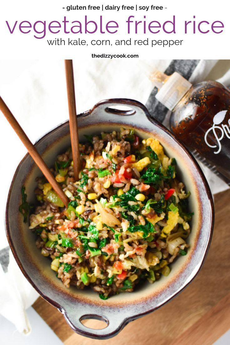 Got leftover vegetables? This veggie fried rice is perfect