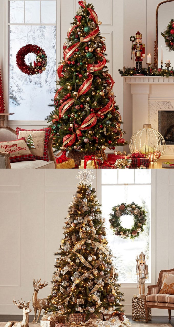 42 Christmas Tree Decorating Ideas { & Best