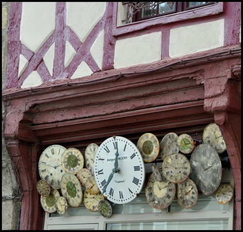 The watchmaker in Vannes ~ Brittany, France