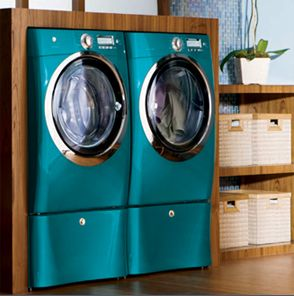 Love This Teal Washer Dryer Set Laundry Room Decor Washer Dryer Set Home Appliances