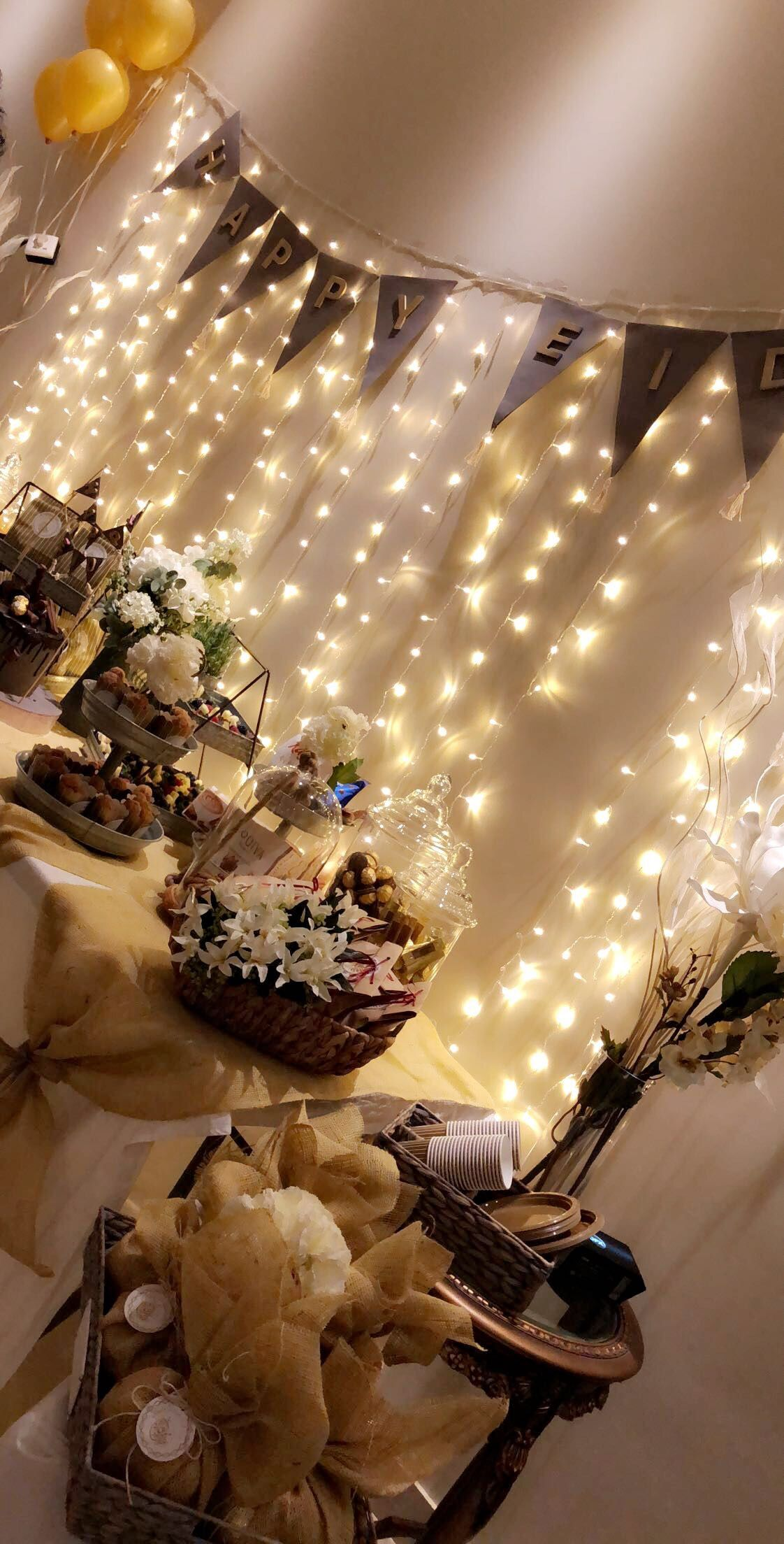 حفلة عيد الفطر المبارك ٢٠١٨ Happy Eid Eid Decoration Eid Gifts Eid Crafts