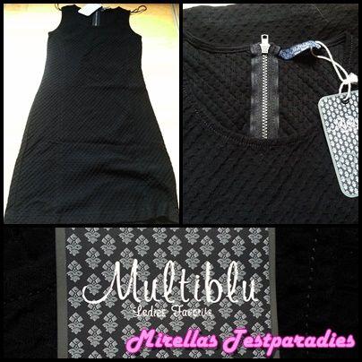 Schwarzes Kleid von Multiblu von Jeans Fritz.