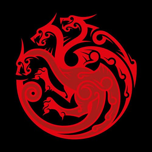 Photo of House Targaryen Sigil